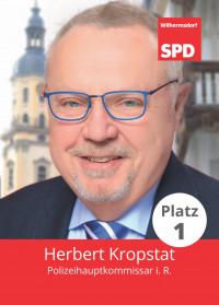 Herbert Kropstat, unser Bürgermeisterkandidat, Liste 5, Platz 1