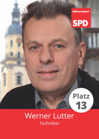 Werner Lutter, Liste 5, Platz 13