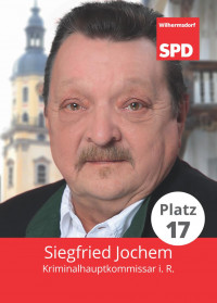 Siegfried Jochem, Liste 5, Platz 17