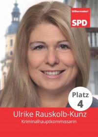 Ulrike Rauskolb-Kunz, Liste 5, Platz 4