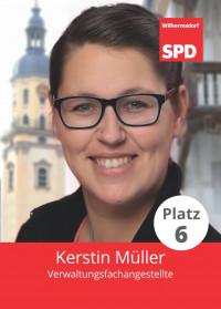 Kerstin Müller, Liste 5, Platz 6