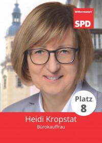 Heidi Kropstat, Liste 5, Platz 8