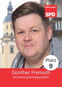 Günter Fremuth, Liste 5, Platz 9