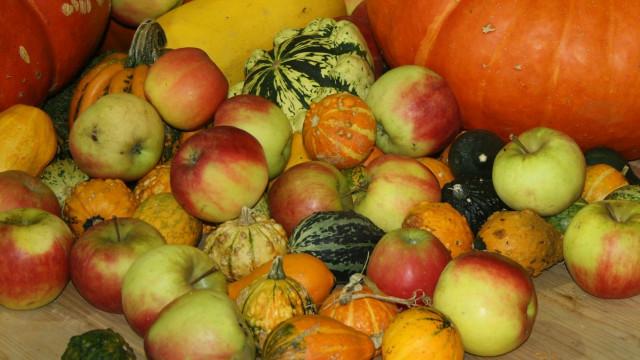 Apfel- und Kürbisfest
